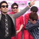 完コピ!オリラジが「ラッスンゴレライ」をやってみた !8.6秒バズーカーも驚愕!「日本女子博覧会-JAPAN GIRLS EXPO 2015 春-」発表会1