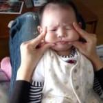 赤ちゃんマジでキレる!怒!(世界一かわいい仏頂面) angrily Baby!!!生後3ヶ月