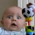おもわず笑ってしまう、笑う赤ちゃんの動画